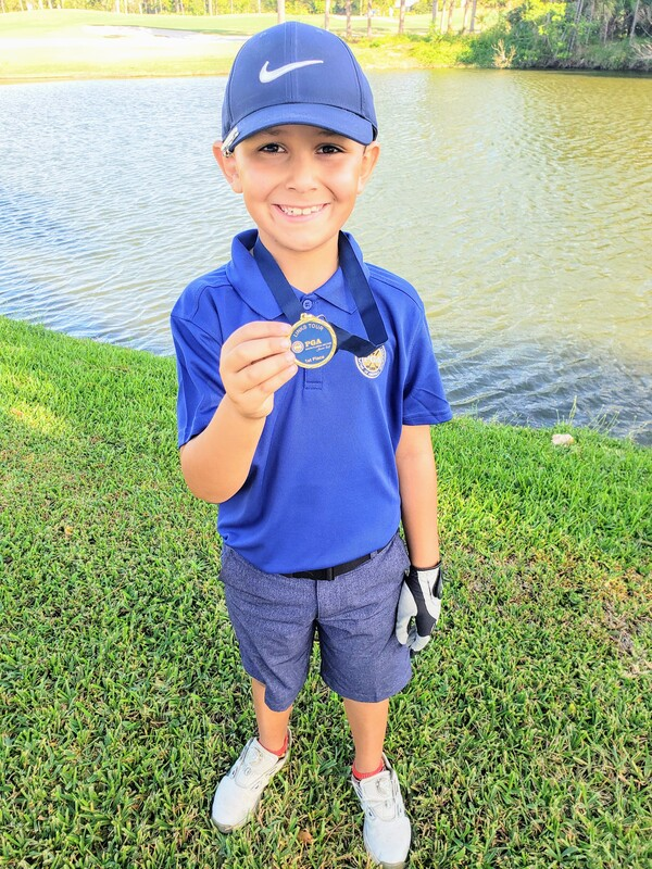 First Place Finish, JR PGA Links Tour, Johnathan's Landing, Thanks Coach Glen Beaver
