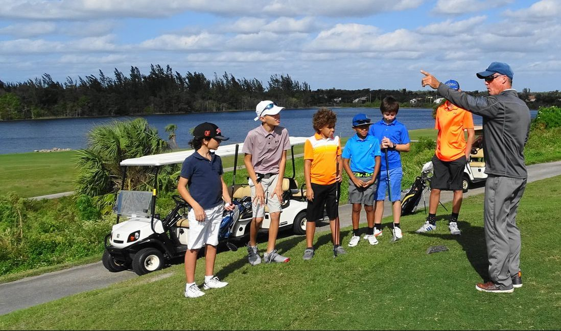 Glen Beaver Golf offers group golf lessons at Okeheelee and Park Ridge Golf Courses